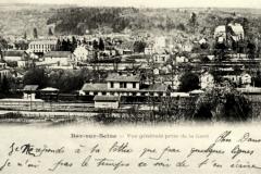 BAR-sur-SEINE-Aube-Vue-generale-prise-de-la-gare
