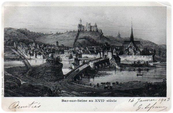 Bar-Sur-Seine son histoire jusqu'au Moyen-Âge
