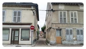 Les labyrinthe de ruelles à Bar-Sur-Seine