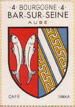 Bar-sur-Seine : survol des monuments historiques et autres curiosités.